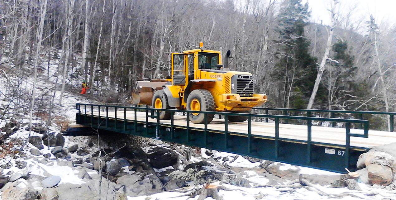 Long Span Temporary Bridge