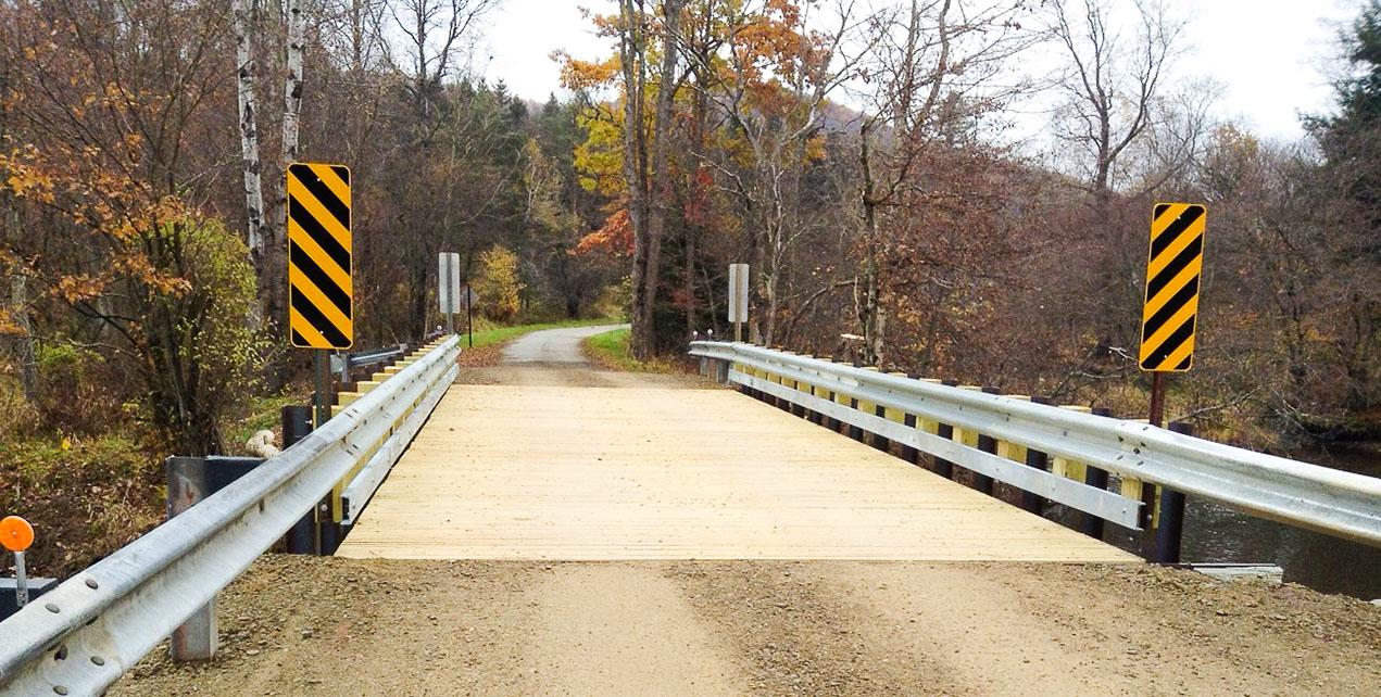 permanent vehicular bridge